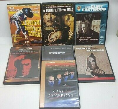Pelicula Dvd Pack Clint Eastwood 7 Titulos