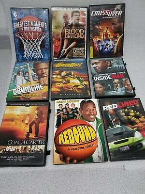 DVD Movies Lot Sale 9 Total
