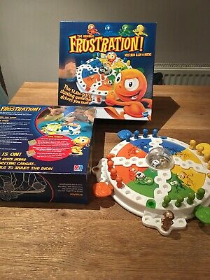 The Original Frustration Board Game with Slam-O-Matic - Complete 2011 Hasbro