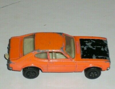 Matchbox 54 D Ford Capri reproduction white metal bonnet