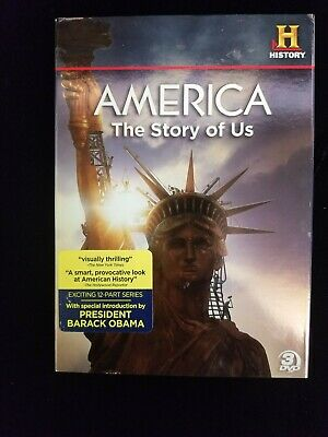 America The Story of Us (DVD, History Channel, 2012, 3-disc)