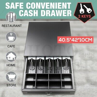 Heavy Duty 5 Bills 8 Coins Tray Manual/Electronic Cash Drawer Cash Register POS