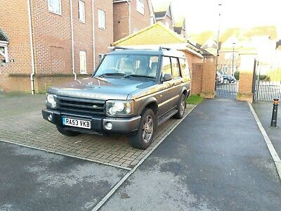Land Rover discovery 2 ES Auto + Sat Nav Rust free/Full service history