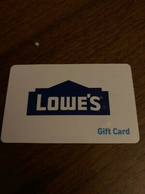 Lowes Gift Card - Gift Card.