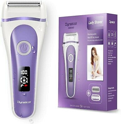 Electric Lady Shaver Waterproof Women Wet-Dry Razor Rechargeable Hair Trimmer