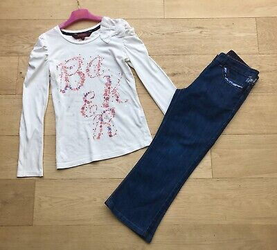 TED BAKER  *9y GIRLS JEANS & BAKER TOP OUTFIT AGE 9 YEARS (9-10y