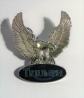 TRIUMPH Motor Cycles, Eagle Hat Pin, Lapel Pin, 2 clutches, Car, Vintage Gift