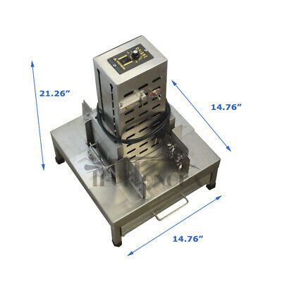 Commercial Chocolate chip block Cutting Shaving Machine Chocolate Slicer