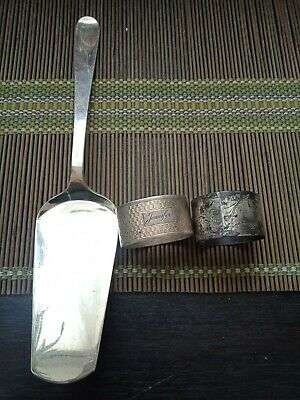Sterling Silver And English Sterling