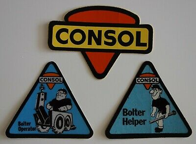Consol Mining Stickers