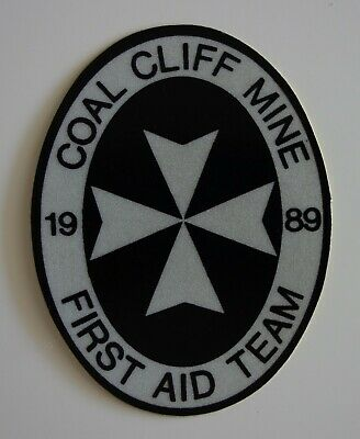 1989 Coal Cliff Colliery Mining Sticker
