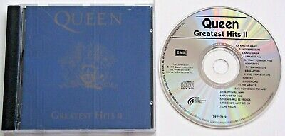 Queen Greatest Hits Ii..17 Track Australian Pressing Music Cd..disctronics 1991