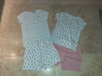 The Little White Company Pyjama Set x 2 Age 9-10 New with tags