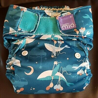 Bambino Mio All-In-One Birth to Potty Re-usable Cloth Nappy PRELOVED