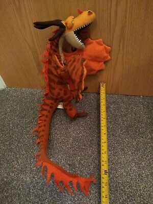 Hookfang How To Train Your Dragon Soft Toy Plush - Dreamworks - Freepost
