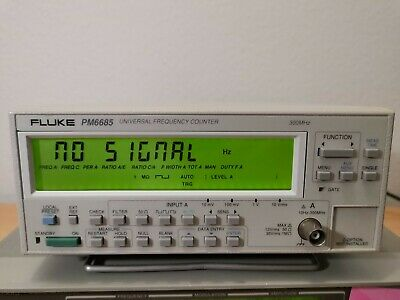 Fluke PM6685 Universal Frequency Counter bis 300 MHz
