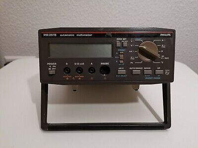 Philips PM2519 Automatic Multimeter, True RMS Digital Multimeter + HPIB Anschlus