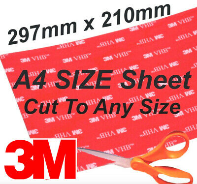 3M Pads Strong Double Sided Sticky Pads Mounting Heavy Self Adhesive Pads