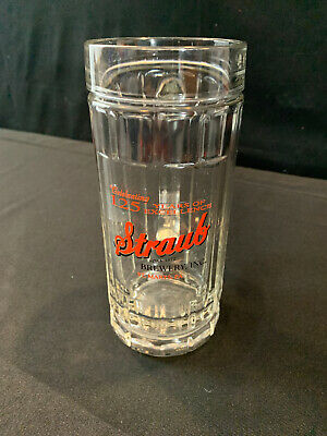 Straub Beer Mug St. Marys, PA 125 Years Man Cave Bar Ware Advertisement