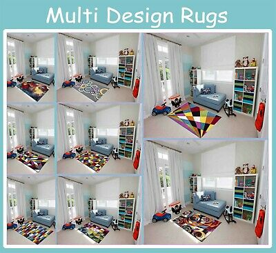 Modern Design Luxury Hand Carved Multi Colour Carpet Floor Area Rugs Small Large