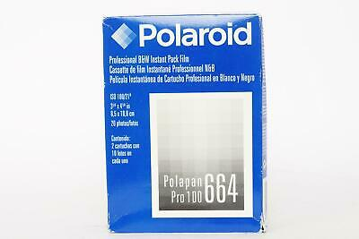 Polaroid film Polapan pro 100, 664, unopened box, expired '03