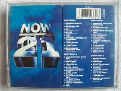 VARIOUS ARTISTS Now That�s What I Call Music 21 2x cassette [Audio Cassette] Var