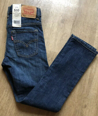 Boy's 510 Levi's Adjustable Waistband Skinny From Hip to Ankle Stretch 25/25