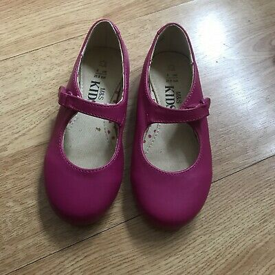 M&S Girls Shoes Infant Size 8 Worn Once