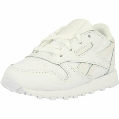 Reebok Classic Leather White/Iridescent Leather Infant Trainers Shoes
