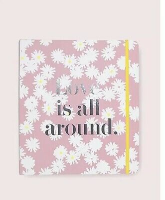 "Kate Spade New York Bridal Planner ""Love is All Around"" Binder NWT/box FABULOUS!"