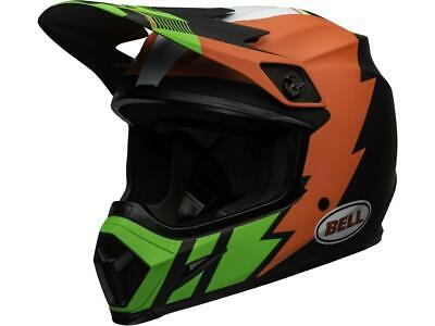 Casque motocross BELL MX-9 Mips Strike Vert / Orange / Noir 2020