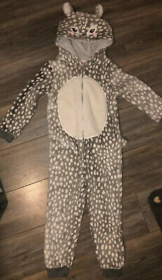 Tu Girls All In One Animal Pjs Age 6-7 Years