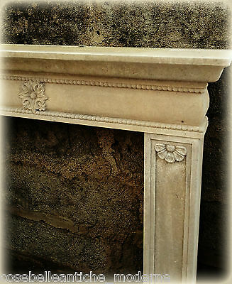 Kamin in Stein Lecce Stil Empire Fireplace Stone Classic Home Design
