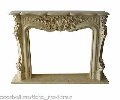 Kamin Klassisch Kamin Marmor 5 Classic Stone Marble Fireplace