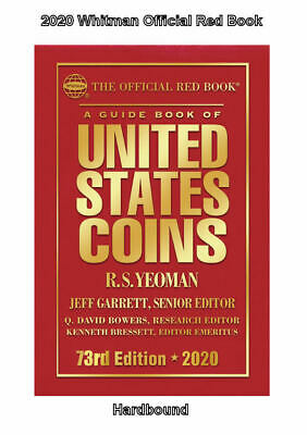 2020 Red Book Price Guide, 73rd Edition, Hardbound, SHIPPING NOW!