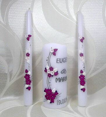 Wedding Candle Birthday Candle Gift Various Colours