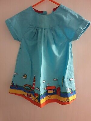 Little Bird Sundress 12-18 Months. Mothercare. Jools Oliver. Beach Scene