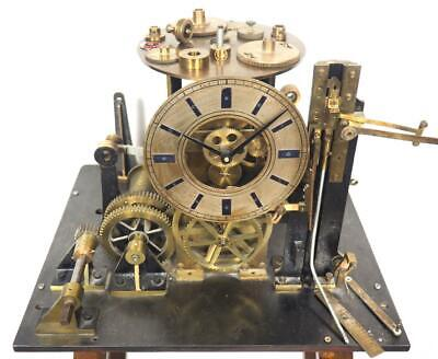 Rare Industrial Clock Turret Style Clock Free Standing Water Measuring Watermill