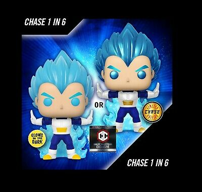 FUNKO POP Dragon Ball Super Powering Up Vegeta Exclusive 1: 6 CHANCE CHASE