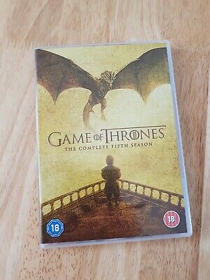 Game of thrones season 5 dvd. Watched once. Next day despatch