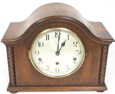 Antique Hat Shaped Westminster Chime Mantel Clock English Musical Mantle Clock