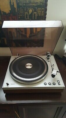 Philips 212 Electronic Turntable w/ dust cover