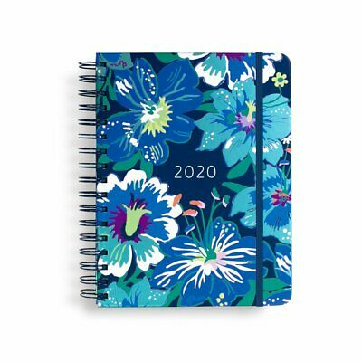 Vera Bradley 12 Month Large Planner/ Agenda Moonlight Garden Jan 2020- Dec 2020
