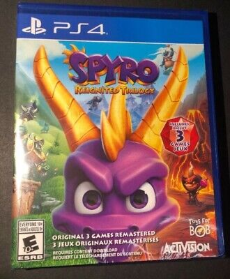 Spyro the Dragon Reignited Trilogy PS4
