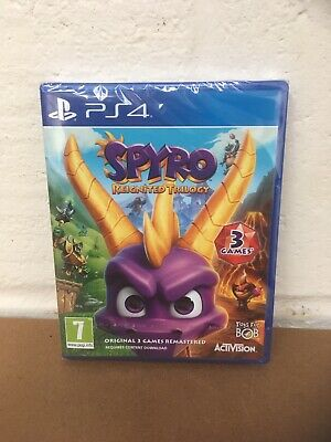 Playstation 4 (Ps4) Spyro Reignited Trilogy - Brand New Sealed Game