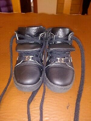 Boys River Island Black Boots - UK Size 6 (EU 23) - Great Condition