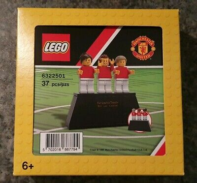 NEW LEGO THE UNITED TRINITY rare set 6322501 EXCLUSIVE VIP set with old trafford