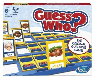 Guess Who Game Children's Board Genuine Origional Hasbro Two Players kids Cards