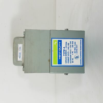 General Signal Hevi-Duty Type A PIF250A General Purpose Transformer