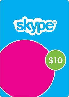 Skype Credit AU$10 (Skype ID required - digital delivery)